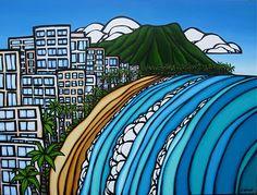 The Surf Art of Heather Brown: Wakkii