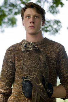 Eddie (George Mackay). He kind of looks like Ron Weasley in this picture and I am kind of diggin it.