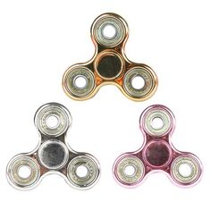 Fidget Finger Spinner Focus Attention Spin EDC Sensory Bearing Anti-Stress Toys For Adults Game Metal High Quality Hand Spinners Edc Fidget Spinner, Spinner Toy, Hand Spinner, Fidget Spinners, Stress Toys, Stress Relief Toys, Cubes, Nerf Accessories, Adhd