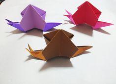달팽이 종이접기 Origami Snail Gato Origami, Origami And Quilling, Origami Paper Art, Origami Fish, 3d Origami, Origami Flowers, Mayan Numbers, Diy And Crafts, Paper Crafts