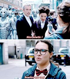 Doctor Who with Missy or the Master regenerated.