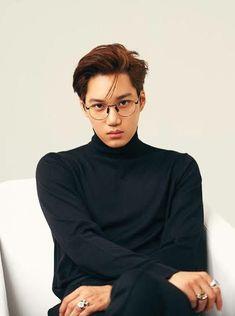 Im here to bless everyone with new photos of Kai modeling a photoshoot for the G Exo Kai, D O Exo, Chanyeol Baekhyun, Taemin, Shinee, Chen, Exo Korean, Korean Boy, Korean Star
