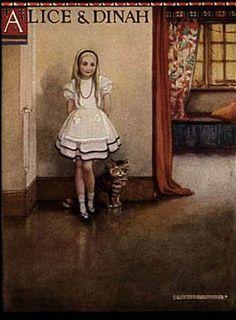 """LETTERATURA- Alice: """"non sono bionda, è che mi disegnano così"""", da John Tenniel alla Disney - http://www.wuz.it/articolo-libri/4275/alice-specchio-brani-citazioni-illustrazioni.html"""