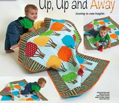 It's PERFECT! Maybe I'll keep this one (that's almost finished, dang it) and make this one for you instead!! Up, Up and Away: Free Quilting Pattern