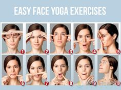 Everyone is curious to know what are the yoga exercises to reduce face fat? It is just the exercises that are meant to bring harmony and tone to the neck and facial muscles. For those with chubby cheeks, face exercise to reduce fat is essential and this i Massage Facial, Facial Yoga, Facial Muscles, Yoga Fitness, Fitness Tips, Health Fitness, Reduce Face Fat, Face Yoga Exercises, Face Exercises Cheeks