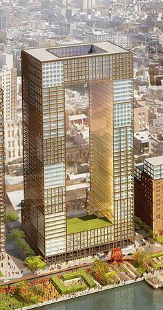 Williamsburg, Domino Sugar Factory, East River, Shop Architects, Williamsbur Bridge, Brooklyn waterfront
