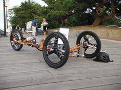 Black Sparrow Industries says the Tribey has a range of about 18 miles on a single...