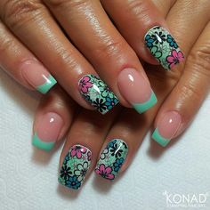 these are so pretty if i took a long time on my nails they still wouldn't look like this