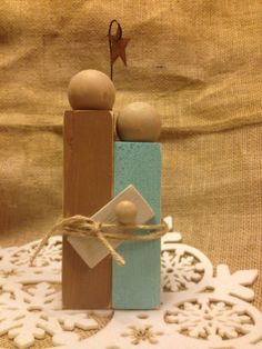 Pinterest Tuesday: Simple DIY Nativity | Junk in the Trunk