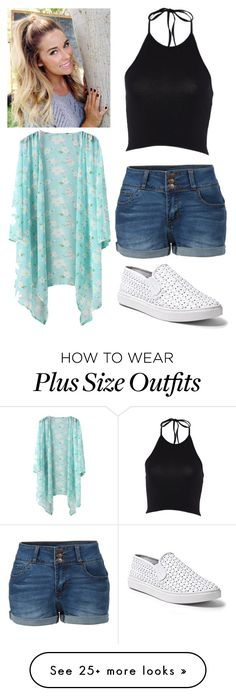 """Untitled #11808"" by aavagian on Polyvore featuring LE3NO and Steve Madden"
