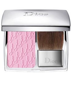 The ultra-fine powder comes in a true pink shade that's universally flattering to all complexions for a just-pinched rosy look. Added touch of luxury: it's lightly scented with rose (sigh).    Dior Rosy Glow Healthy Glow Awakening Blush in Petal, $44, sephora.com.