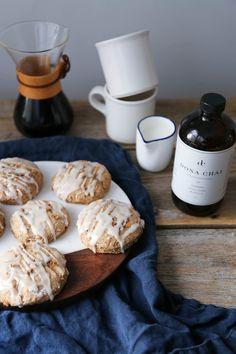 Whole wheat chai scones
