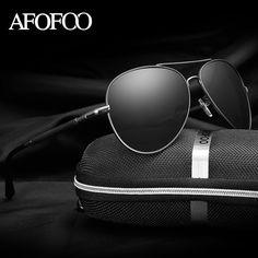 AFOFOO Men's HD Polarized Sunglasses Classic Brand Aluminum+Alloy Men Driving Mirror Sun glasses Male UV400 Shades Eyewear  #men #me #trendy #fashionweek #kids #photooftheday #graduation #accessories #selfie #newarrivals #bride #love #women #sale #baby