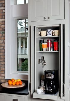 Love this coffee cabinet!