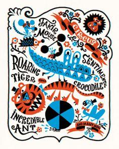 Circus - Image réalisée pour Wilkintie