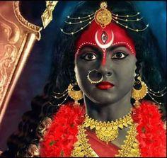 Indian Goddess Kali, Goddess Art, Durga Goddess, Mother Kali, To My Mother, Kali Hindu, Hindu Art, Kali Mantra, Lord Durga
