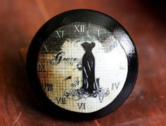 Vintage Knob Time of Grace Door Pull by kmadson on Etsy, $6.50