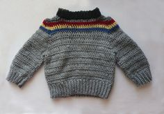 Wesley Crusher Toddler Sweater Sz 3T. $60.00, via Etsy.