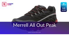 Merrell All Out Peak Review Running Shoe Reviews, Trail Running Shoes, Adidas Sneakers, Adidas Shoes