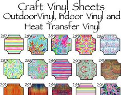 Outdoor Vinyl // Beautiful Patterned Outdoor by SouthernIdeology