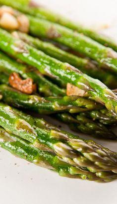Weight Watchers Friendly Sauteed Garlic Asparagus Recipe - 5 Smart Points