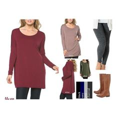 How To Wear Leggings 101: The Essential Leggings Tunic REG: $34 *Monday Madness* Price $29.00, $2.00 Shipping ➖➖➖➖➖➖➖➖➖➖➖➖➖➖➖➖➖ Sizes: Small(2/4), Medium(6/8), Large(10/12) Colors: Wine, Coco, Olive, Black, Navy, Grey, Charcoal  To purchase: Comment SOLD, SIZE, COLOR, EMAIL (if you've never shopped with us) ➖➖➖➖➖➖➖➖➖➖➖➖➖➖➖➖➖➖ All this talk of leggings, ponchos and boots means you need some of THESE! In a soft, breathable and stretchy natural bamboo/spandex blend, we've found only the most…