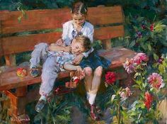 Enjoy our large collection of artwork by Michael and Inessa Garmash. View New Releases, a full collection of Limited Edition Giclees and Original Paintings! Virtual Art, Best Artist, Impressionist, Les Oeuvres, Cool Art, Awesome Art, Illustration Art, Art Illustrations, Original Paintings