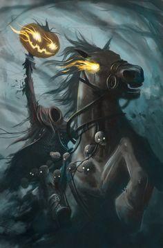 Headless Horseman by srdunko.deviantart.com on @deviantART