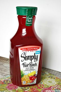 Simply Fruit Punch Mocktails and Simply Juice Drinks Giveaway Juice Drinks, Alcoholic Drinks, Beverages, Cocktails, Hawaiian Punch, Juice Packaging, Juice Flavors, Juicy Fruit, Fruit Punch