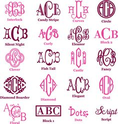 Monogram Desktop | At office | Pinterest | Cord, DIY ideas and ...