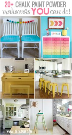 20 Chalk Paint Makeovers!