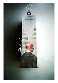La cruna dell'ago Ken Follett Illustrazione di Maurizio Marotta