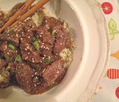 the preppy paleo: Paleo Crock Pot Mongolian Beef - tasty tastes healthier than takeout! paleo crockpot meatloaf