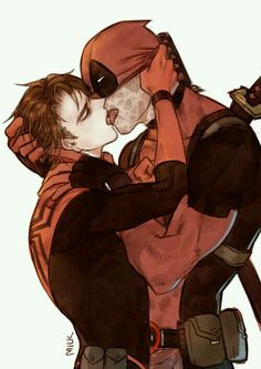 Read Spideypool 2 from the story Yaoi marvel by with reads. Spideypool, Superfamily, Marvel Memes, Marvel Dc Comics, Marvel Avengers, Deadpool X Spiderman, Nightcore Anime, Iron Man Capitan America, Comic Anime