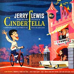 """""""Cinderfella"""" (1960, Dot).  Song and story based on the movie soundtrack."""