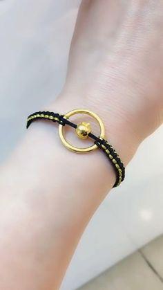 Diy Bracelets Easy, Bracelet Crafts, Braided Bracelets, Handmade Bracelets, Jewelry Crafts, Diy Rings Easy, Diy Beaded Bracelets, Easy Diy, Handmade Rakhi