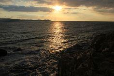 Morgensonne über der griechischen See…