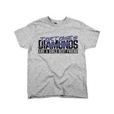 'Diamonds Tortoises Are A Girls Best Friend'
