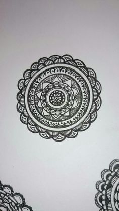 my zentangle circle⑥