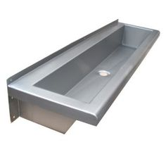 Coloured Wash Trough Stainless Steel In Any Colour
