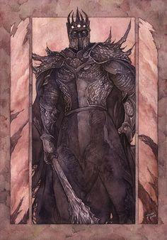 """And Morgoth came."" - Gold-Seven [deviantART]"
