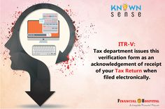Don't forget to verify your ITR forms, either online through a Netbanking/Aadhar based OTP or by sending a physical copy to CPC Bangalore. Income Tax, Verify, Money Tips, Otp, Don't Forget, Physics, Investing, Physics Humor, Forget You