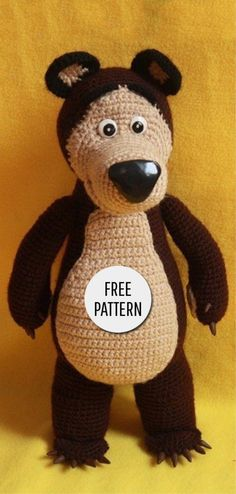 Mesmerizing Crochet an Amigurumi Rabbit Ideas. Lovely Crochet an Amigurumi Rabbit Ideas. Crochet Amigurumi Free Patterns, Crochet Animal Patterns, Stuffed Animal Patterns, Crochet Animals, Crochet Dolls, Amigurumi Tutorial, Cute Crochet, Crochet Baby, Crochet Projects