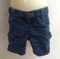 Fashion Boys Size 2t Blue Shorts with Palm Tree design for Toddler Boy walking #Cherokee #Shorts #Everyday