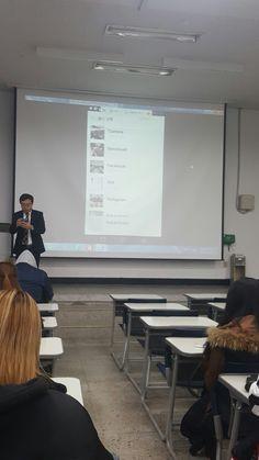 원광대학교 트위터와 소셜네트워크  수업시간에 핀터레스트를 공부하고 있습니다