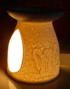 Angels Porcelain Oil Burner