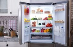 If a refrigerator won't close properly, then it may have a bad seal. Cleaning refrigerator door seals can assist with closing and help the interior stay cold. How To Clean Refrigerator, Top Freezer Refrigerator, French Door Refrigerator, Refrigerator Organization, Organization Hacks, Fridge Storage, Door Seals, Fresh Fruits And Vegetables, Deep Cleaning