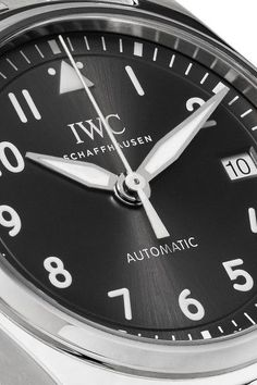 IWC SCHAFFHAUSEN - Pilot's Automatic 36 Stainless Steel Watch - Silver - one size