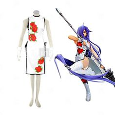Ikki Tousen Kanu Unchou (Cheong-sam) cosplay costume