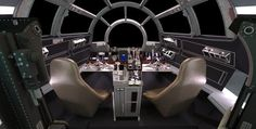 Inside the Millennium Falcon   cool details like the maintenance pits in the floor but lacking enough ...